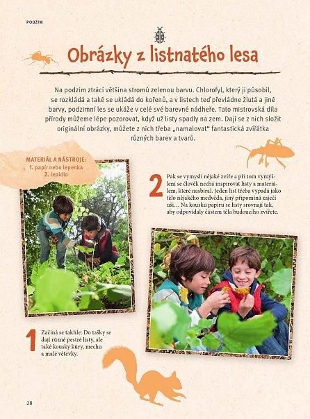 Náhled Dobrodružství v přírodě pro děti - Inspirace pro rodiče, Skvělé nápady pro děti