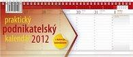 Kalendář 2012 - Podnikatelský červený, stolní