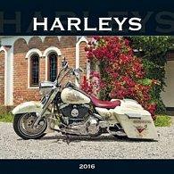 Harleys 2016 - nástěnný kalendář
