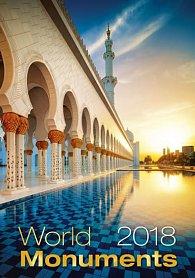 Kalendář nástěnný 2018 - World Monuments
