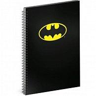 Blok - Batman/Classic, A4 linkovaný,spirálový