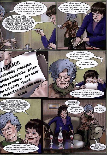 Náhled Tichošlap - Komiks