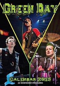 Kalendář 2015 - Green Day (297x420)