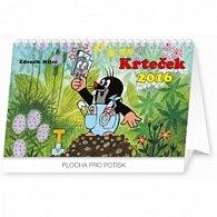 Kalendář stolní 2016 - Krteček,  23,1 x 14,5 cm
