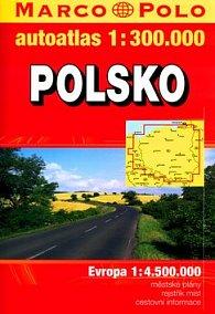 Autoatlas Polsko 1:300 000