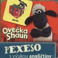 Ovečka Shaun - Pexeso s výukou AJ