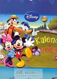 Kalendář Mickey Mouse 2009