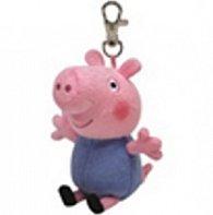 Plyš očka přívěšek Peppa Pig - George