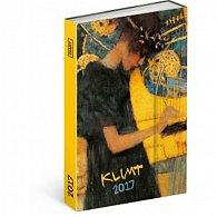 Diář 2017 - Gustav Klimt - týdenní