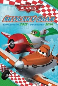W. Disney Letadla školský diár 2014