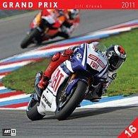 Kalendář 2011 - Grand Prix - Jiří Křenek (30x60) nástěnný poznámkový