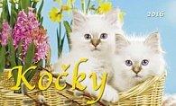 Kočky 2016 - stolní kalendář