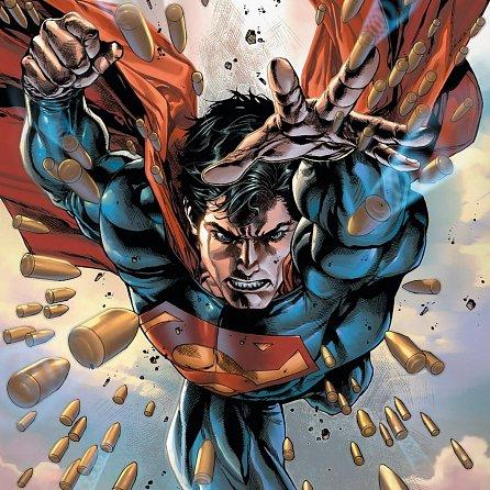 Náhled Kalendář poznámkový 2018 - Superman, 30 x 30 cm