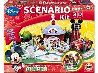 Puzzle 3D Mickey farma