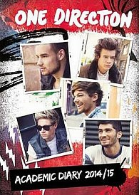 Diář 2015 - One Direction A5 (156x212)