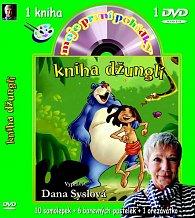 Moje první pohádky - Kniha džunglí (kniha omalovánek s DVD)