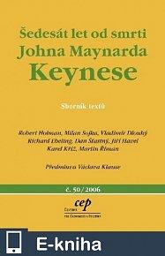 Šedesát let od smrti Johna Maynarda Keynese (E-KNIHA)