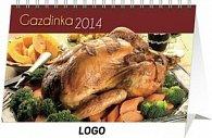 Gazdinka - stolní kalendář 2014