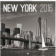 Kalendář nástěnný 2016 - New York - Jakub Kasl, poznámkový  30 x 30 cm