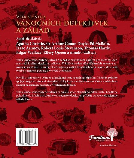 Náhled Velká kniha vánočních detektivek a záhad