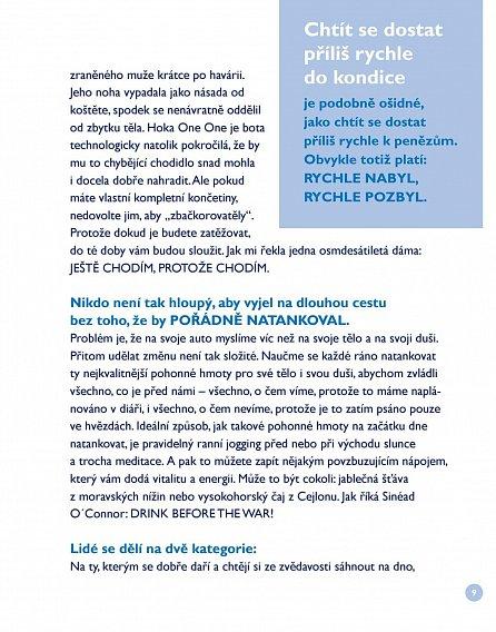 Náhled Modrá knížka o běhání a o životě