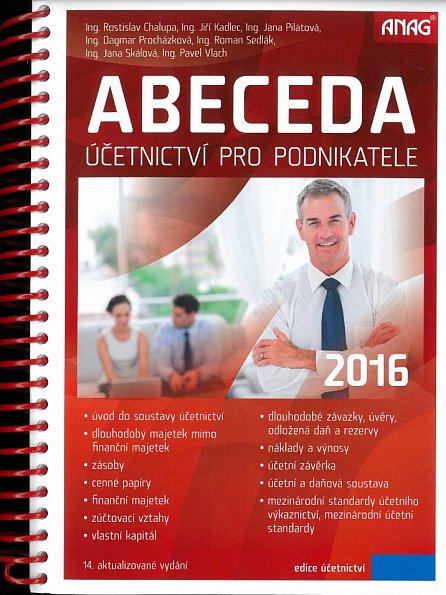 Náhled Abeceda účetnictví pro podnikatele 2016