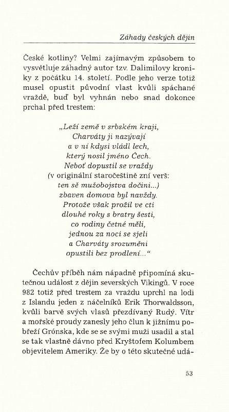 Náhled Záhady českých dějin II.