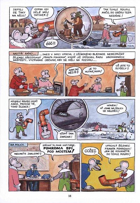 Náhled Anča a Pepík 2 - komiks