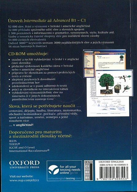 Náhled Oxford Studijní Slovník + CD-ROM  Pack