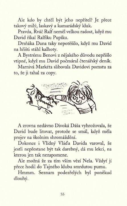 Náhled Darebák David chystá léčku