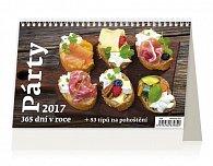 Kalendář stolní 2017 - Párty 365 dní v roce 2017