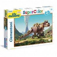 Puzzle Supercolor 60 dílků Mimoni