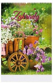 Kalendář nástěný 2016 - ZAHRADY