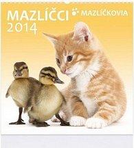 Mazlíčci 2014 - nástěnný kalendář