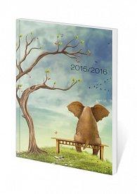 Diář 2016 - Poketto Student - Elephant