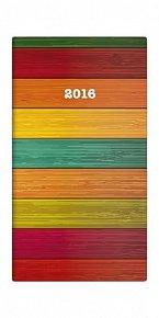 Diář 2016 - Napoli čtrnáctidenní kapesní  PVC - design 04