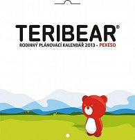 Kalendář 2013 poznámkový plánovací - Teribear, 30 x 60 cm