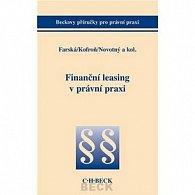 Finanční leasing v právní praxi