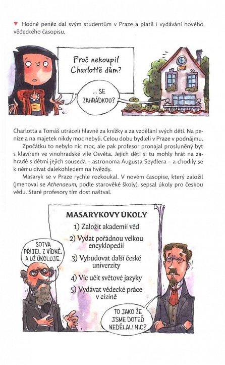 Náhled Tomáš Garrigue Masaryk očima slečny Alice a mistra Viktora - Velikáni do kapsy