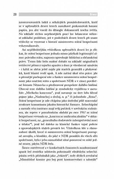 Náhled Stasi - Tajná policie NDR v letech 1945-1990