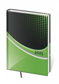 Diář 2015 - VARIO denní A5 - Verde