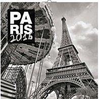 Kalendář nástěnný 2016 - Paříž - Jakub Kasl, poznámkový  30 x 30 cm