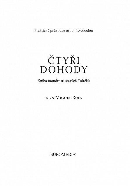 Náhled Čtyři dohody - Kniha moudrostí starých Toltéků