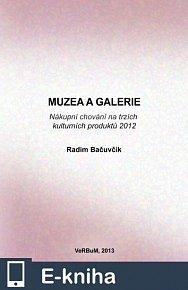 Muzea a galerie. Nákupní chování na trzích kulturních produktů 2012 (E-KNIHA)