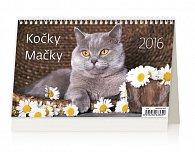 Kalendář stolní 2016 - Kočky