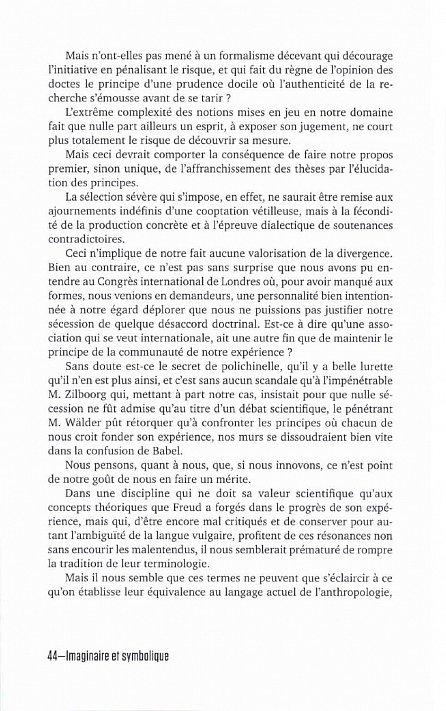 Náhled Imaginárno a symbolično/ Imaginaire et symbolique