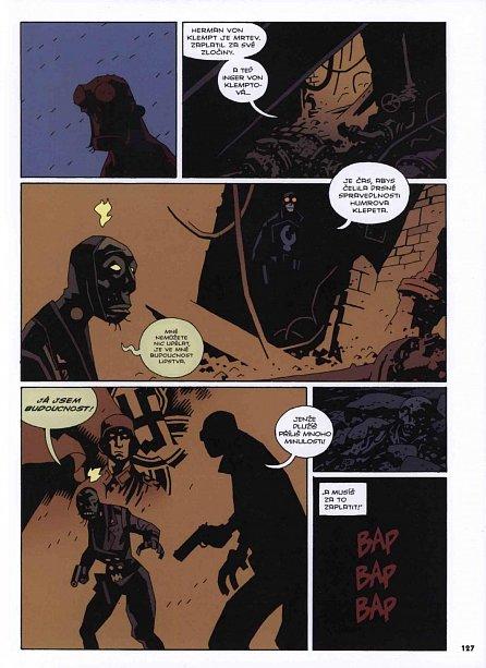 Náhled Hellboy: Pekelná knižnice kniha druhá