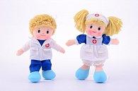 Látková panenka doktor a sestřička