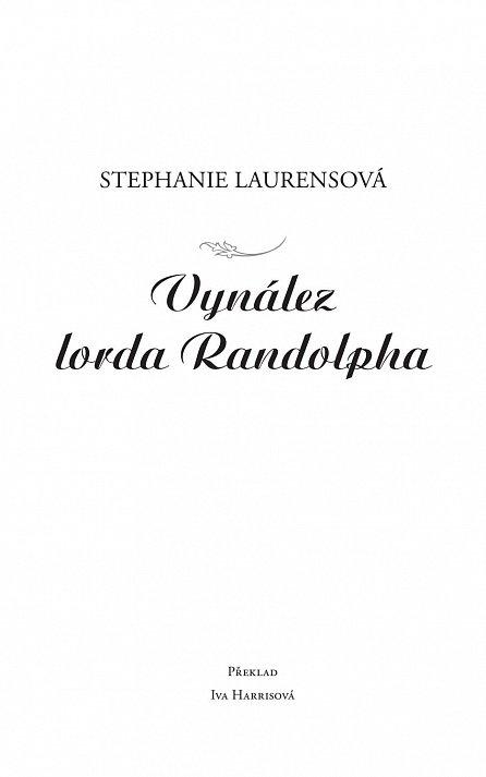 Náhled Vynález lorda Randolpha