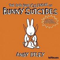 Kalendář 2011 - Bunny Suicides (30x60) nástěnný poznámkový